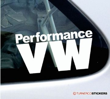Performance VW sticker